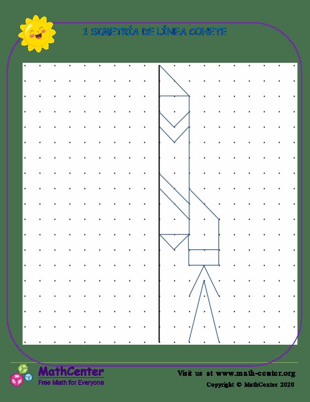 1 Simetría De Línea Cohete