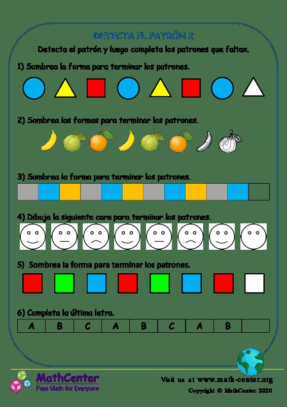 Detecta El Patrón 2