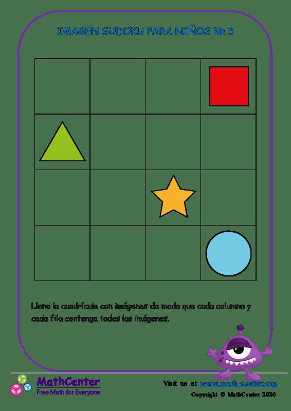Sudoku Para Niños N°5