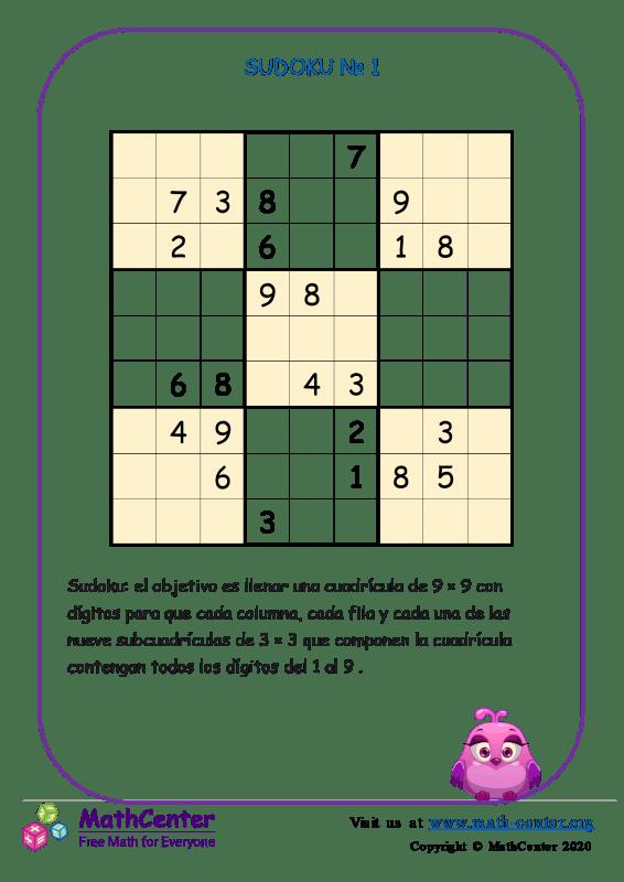 Sudoku N°1