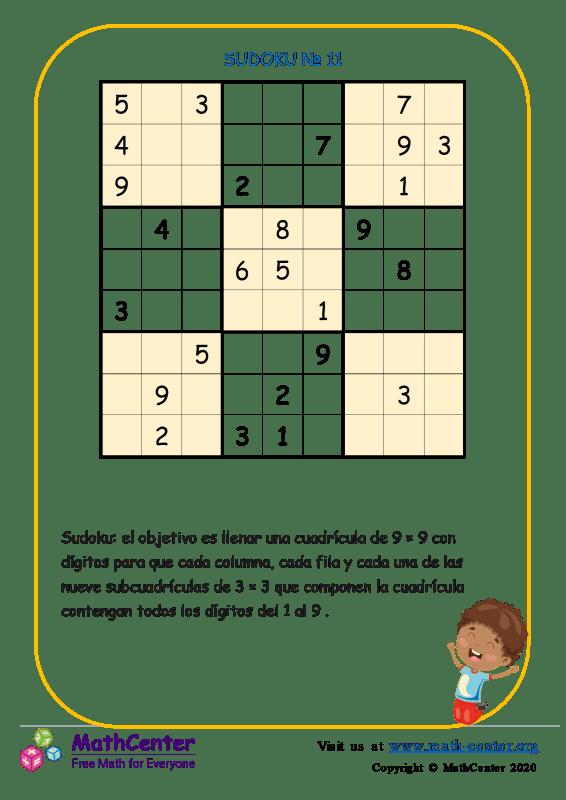Sudoku N°11