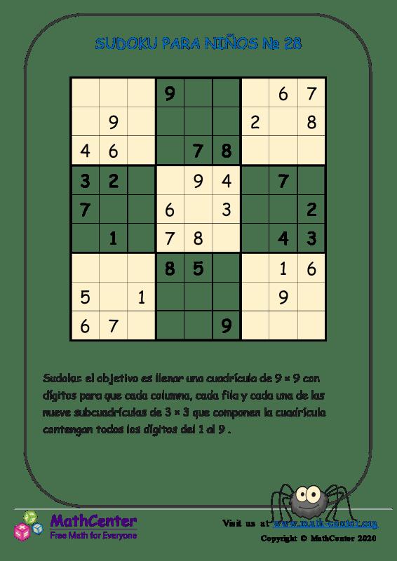 Sudoku N°28