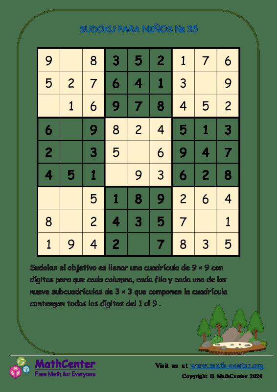 Sudoku N°35