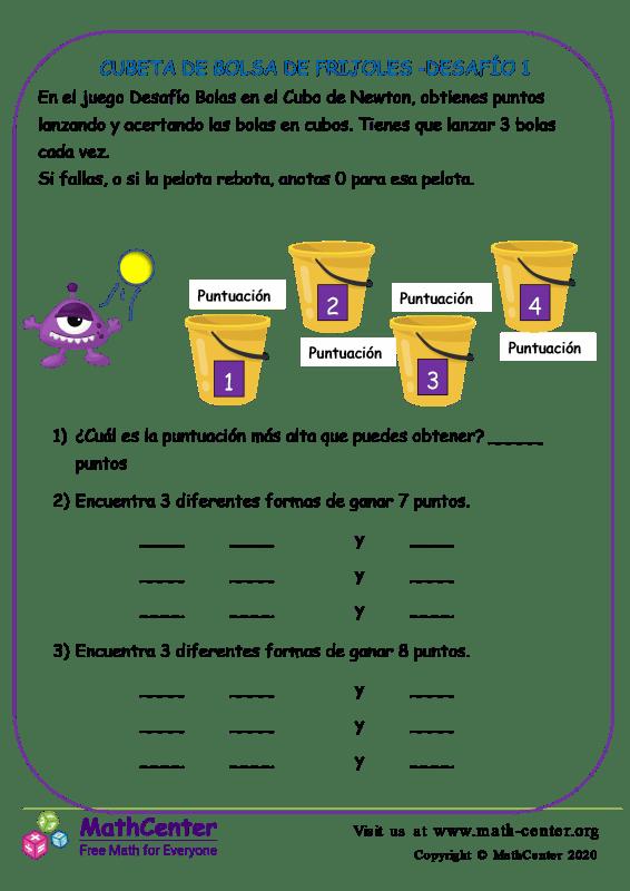 Cubeta De Bolsa De Frijoles -Desafío 1