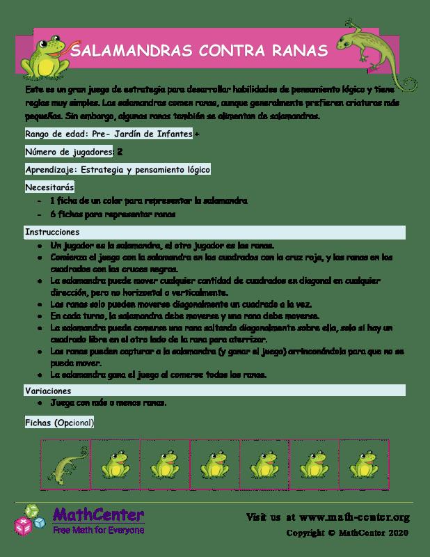 Salamandras contra ranas # 2