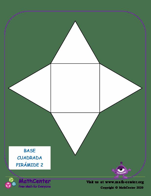 Red piramidal de base cuadrada 2