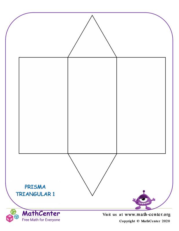 Red de prisma triangular 1