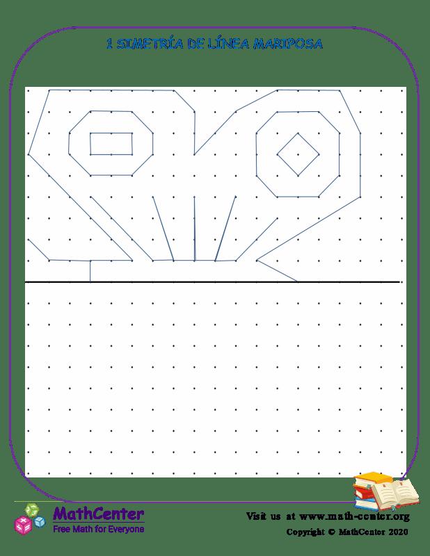 1 Simetría De Línea Mariposa
