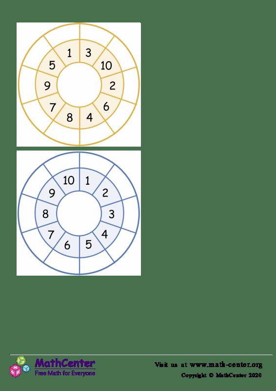 Plantilla de círculos