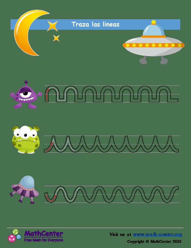 Extraterrestres - Trazando líneas