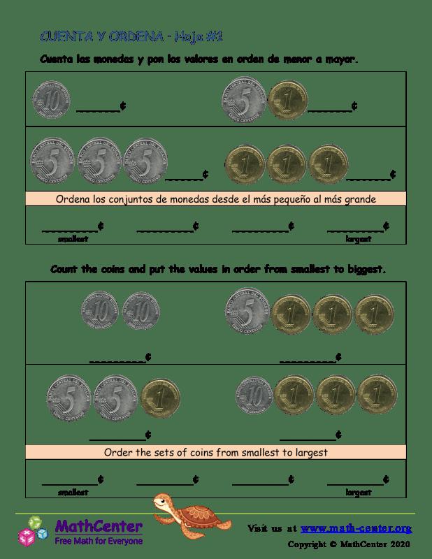 Cuenta y ordena (1) (Argentina)