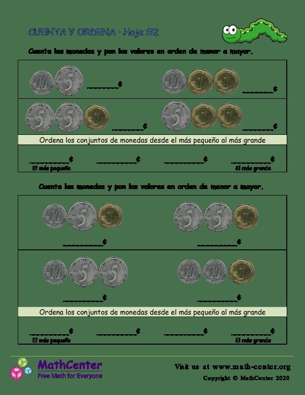 Cuenta y ordena (2) (Argentina)