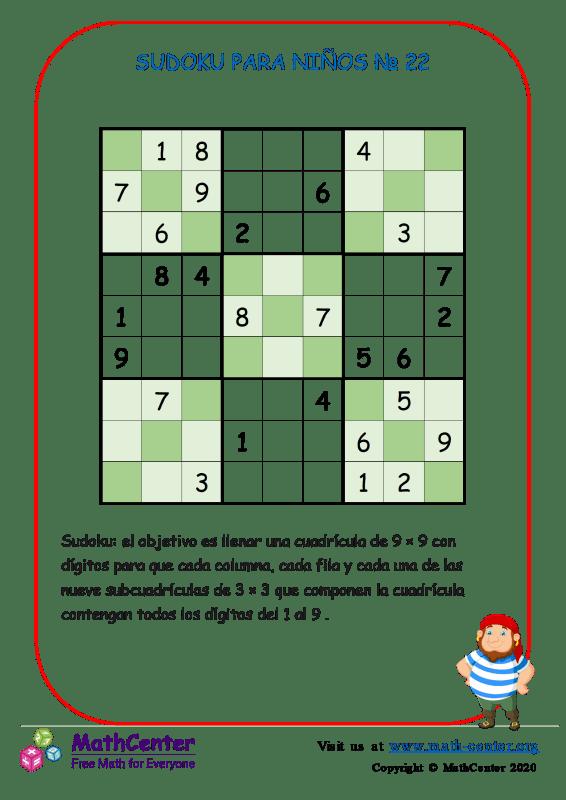 Sudoku N°22