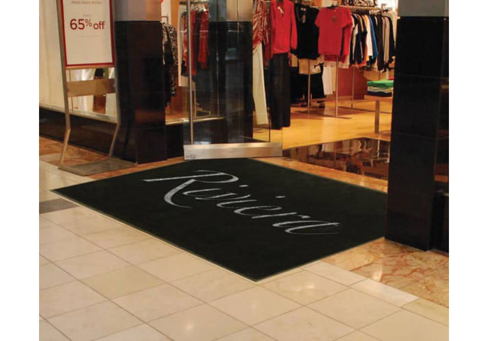Carpet Mat with Your Company Logo - Standard and Custom Sizes