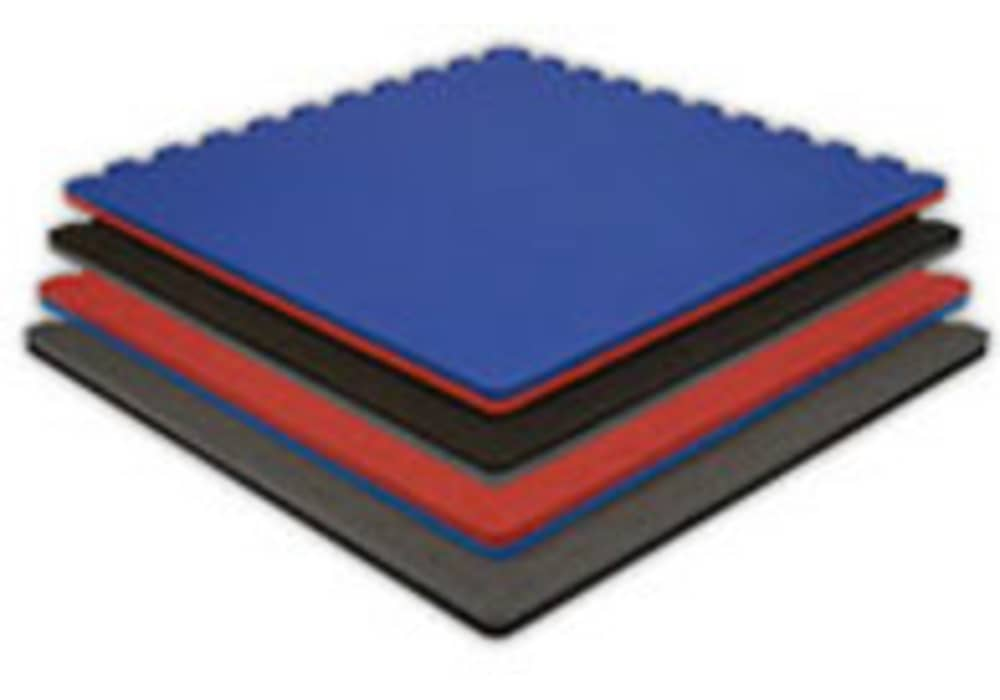 Interlocking Soft Foam Exercise Red Floor Gym Mats Bulk Buy Discount Available!!