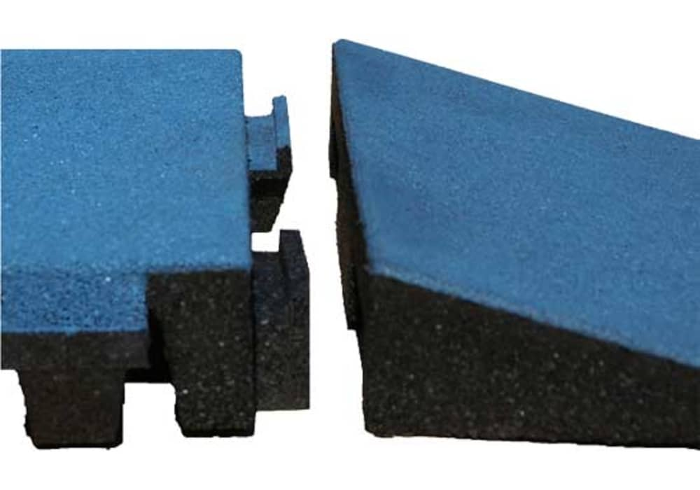 Rubber Playground Tiles For Kids Play Areas