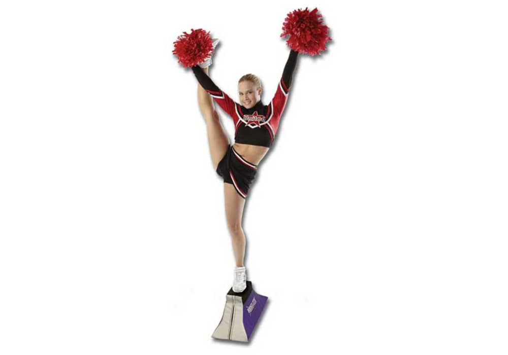 Cheerleading Flyer Stunt Stand To Perfect Your Cheer Stunts