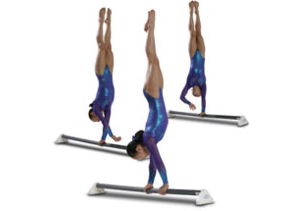 Parallett Bars For Practicing High Bar Turns While On The