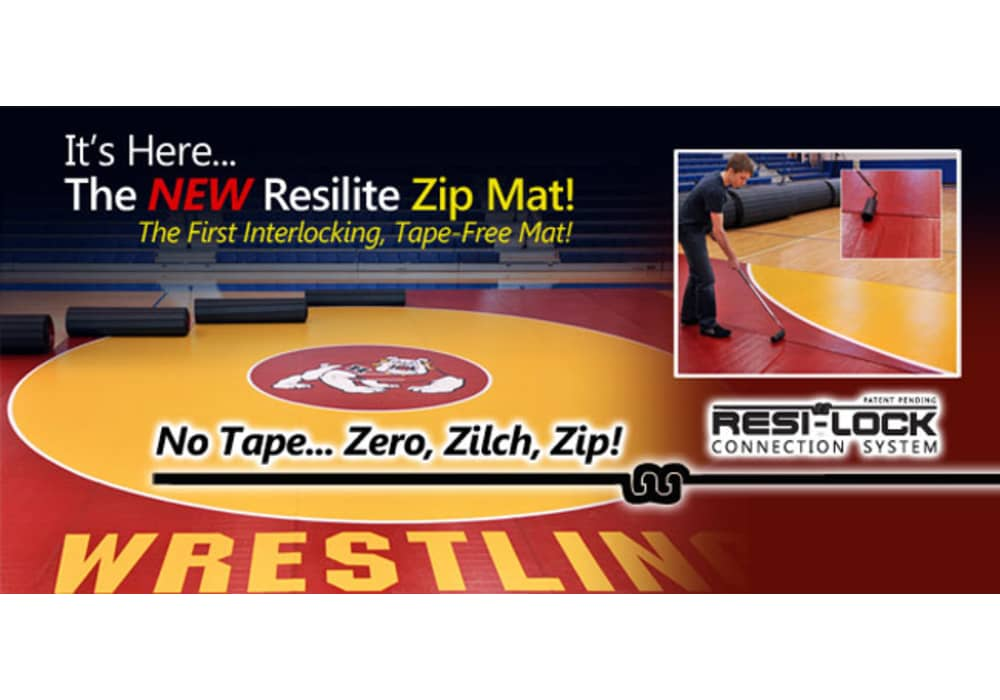 Zip Wrestling Mat Tape Free Alternative To Traditional