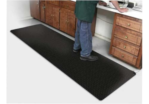 "Conductive Diamond Fatigue ESD Mat & Runner (9/16"")"