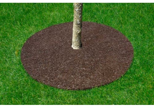 Landscaping Tree Ring - Recycled Rubber
