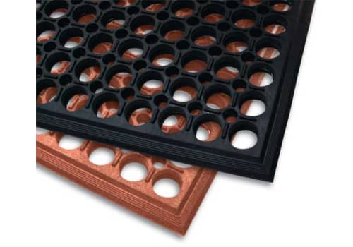 "Work Step Rubber Drainage Mat (1/2"")"