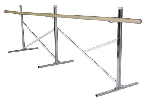 Portable Ballet Bar - Bar On One Side, 10', 14', 16' or Custom by Alvas