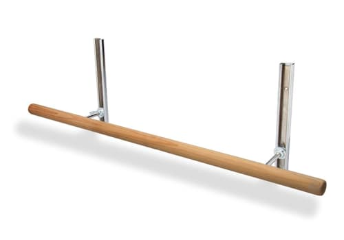 Ballet Bar - Adjustable Wall Mount - 4', 6', 8' or Custom by Alvas