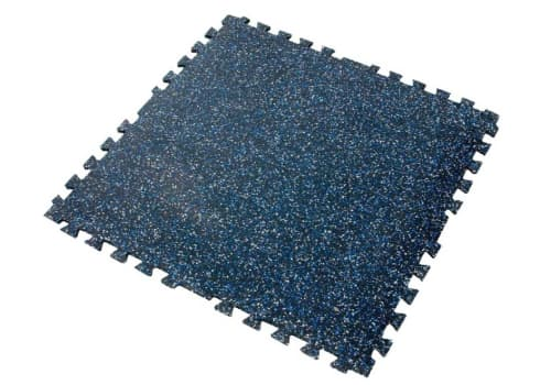 Tuff-n-easy interlocking rubber tiles