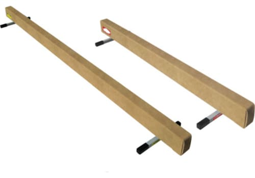Low Gymnastics Wood Balance Beam - 8' Long