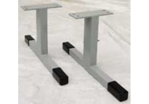 Low Balance Beam Legs (Non-Adjustable)