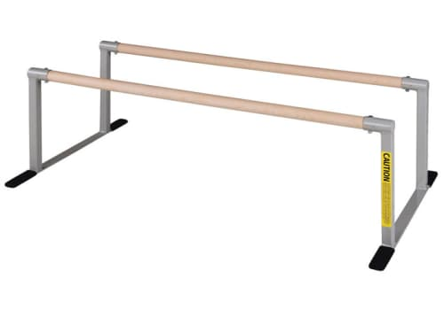 Gymnastics Low Parallel Bars for Kids (No Mat)