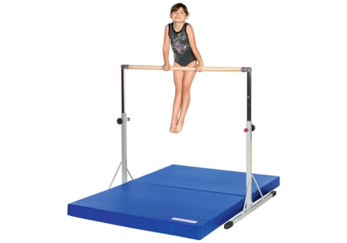 10d8a6ab6983 Gymnastics High Bar and Mat Combo for Kids - Extra Stable
