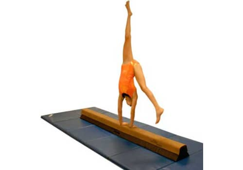 "Pre-Elite Sectional Low Balance Beam - 9"" Base"