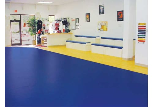 Seamless Floor installed in a Dojo
