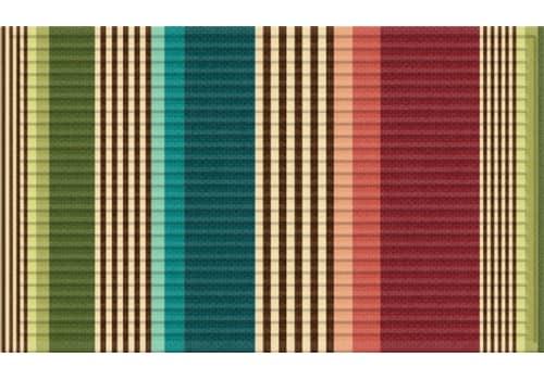3D Impressions Mat - Bold Stripes