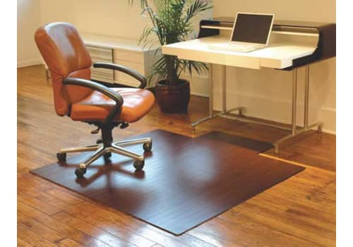 Bamboo Office Chair Mat (Roll-Up)