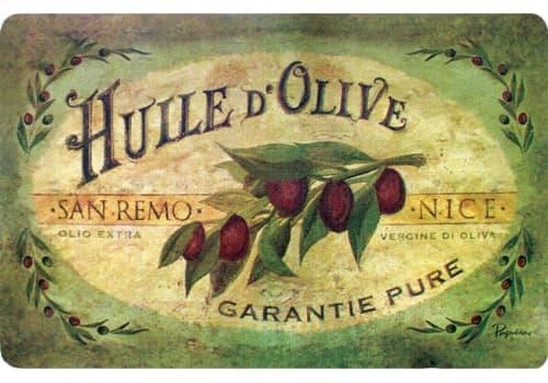 Cushion Comfort Kitchen Mat - Vintage Olive Oil