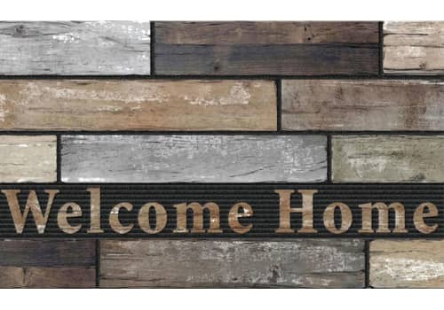 Masterpiece Mat - Welcome Home Slats