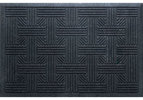 Outdoor Front Door Mats.Mission Trapper Mat 17 X26 Black