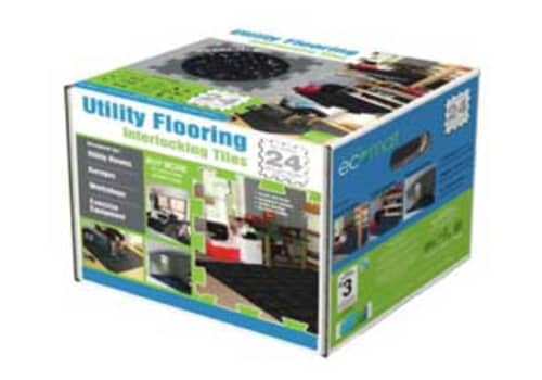 Utility Flooring Interlocking Rubber Tiles