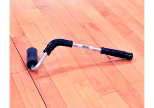 Pressure Roller with J-Handle for Zip Mats