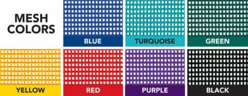 pit mat mesh colors