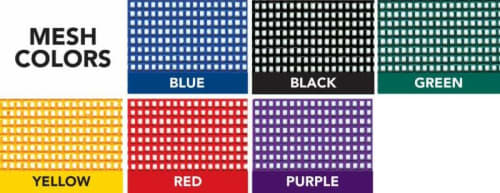 pit mat mesh colors