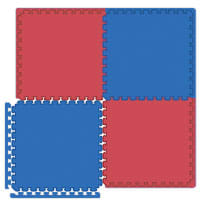 Interlocking Tiles - Reversible Red/Blue