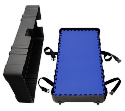 Hard Portable Shipping Case hold 25 Tiles