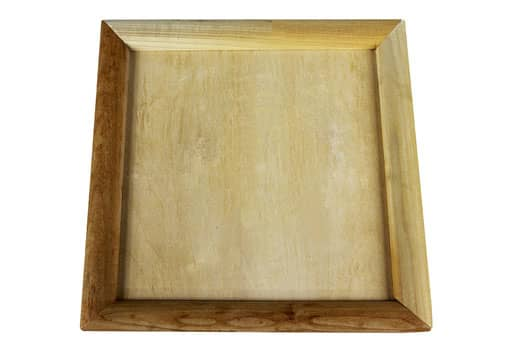 Rosin box is a wooden box with rounded, low profile edging all around for user-friendly in and out.