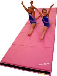 Pink Gymnastics Mats - Tumbling Mat