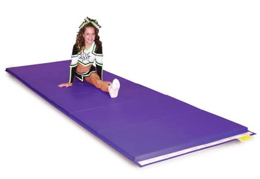 Purple Folding Tumbling Mat