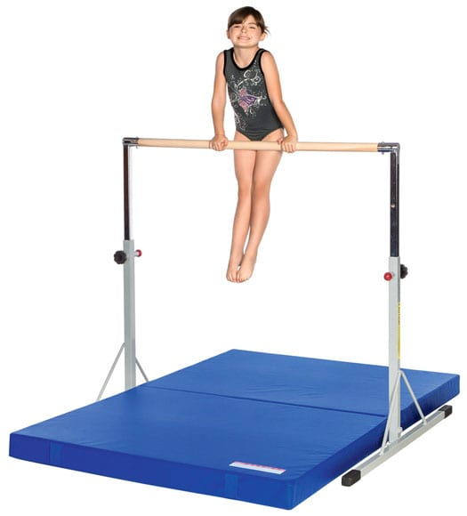 Mini High Bar and mat
